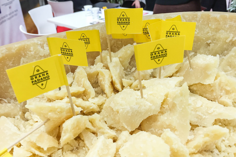 Grana Padano Cheese - Winter Fancy Food Show 2016, San Francisco