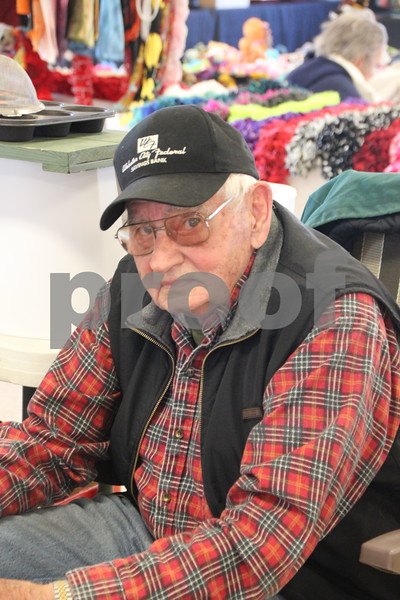 Saturday, January 9, 2016 the Webster County Fairgrounds in Fort Dodge held the Winter Flea Market. The event will go through Sunday, January 10, 2016 . Pictured is: Erik Smith.
