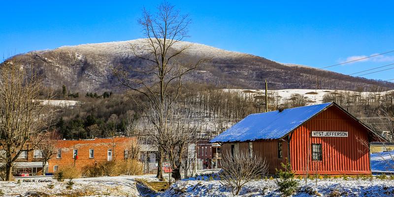 Winter at the Depot