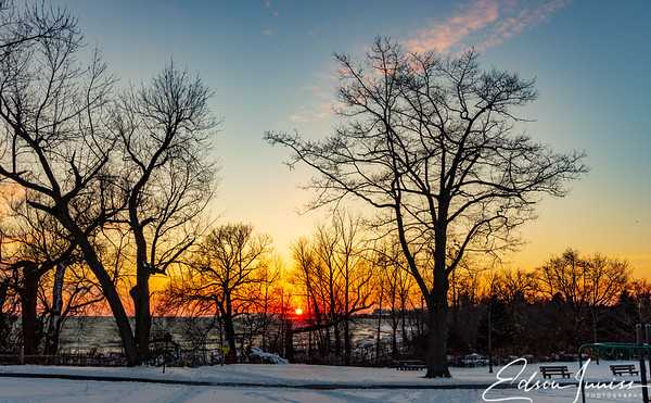 Winter sunset #3
