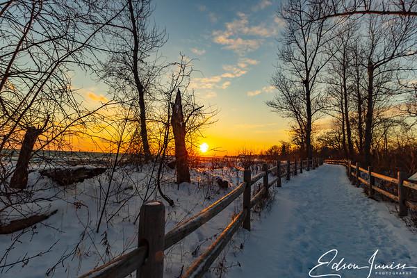 Winter sunset #1