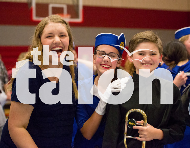 The winter guard season comes to an end with their annual Spring Show at Argyle High School on May 12, 2015. (Photo by Annabel Thorpe/ The Talon News)