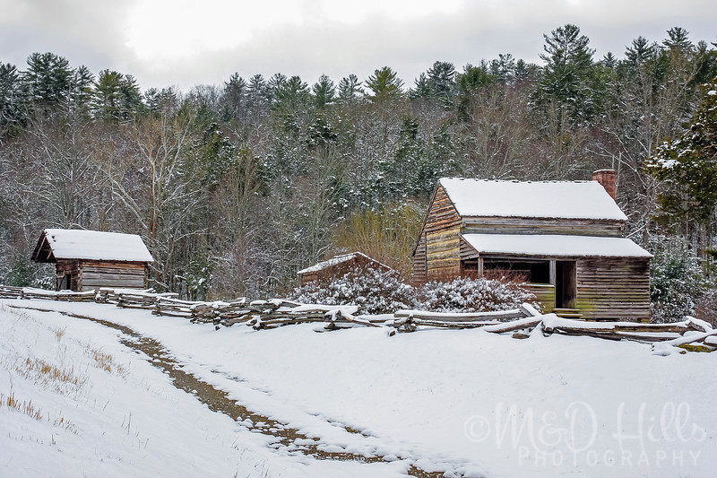 Winter At The Lawson Homestead