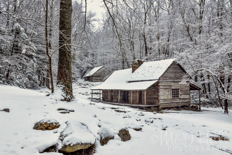 Winter At The Ogle Homestead