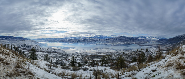 Osoyoos Winter Panoramic 2020