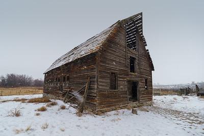Snowy Haynes Barn 2019