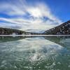 Green Lake Ice Puddle