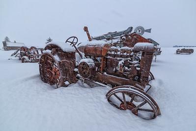 Molson Tractor