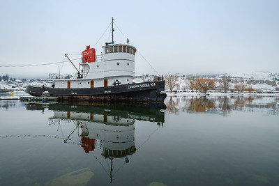 CN Tug Winter Calm