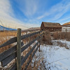 Haynes Barn Winter Fenceline