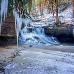 Ice Sickles at Creation Falls