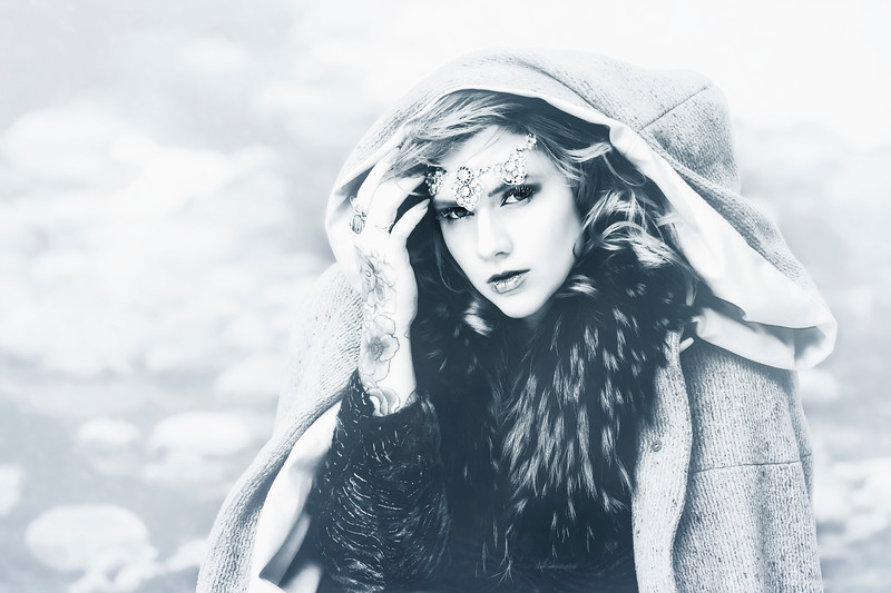 Winter Princess - BW
