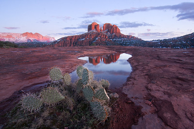 Cathedral Rock Reflection, Sedona