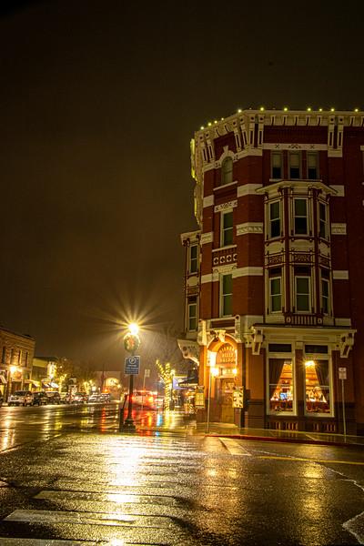 Strater Hotel night