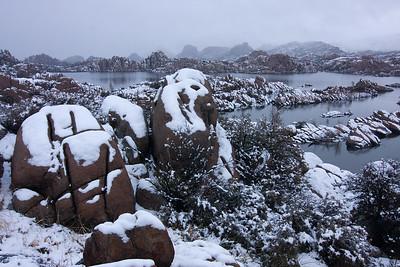 Snowstorm, Watson Lake