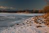 Mountains Rocks Ice at Pastorius, Sundown