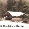New England Winter ~ Covered Bridge