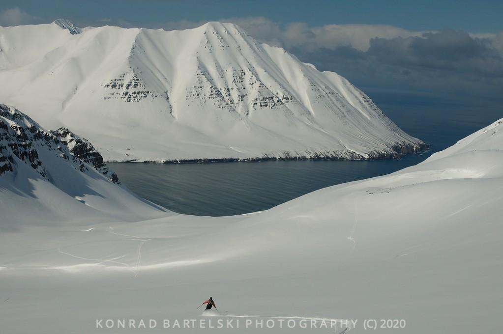 John Falkiner in Iceland