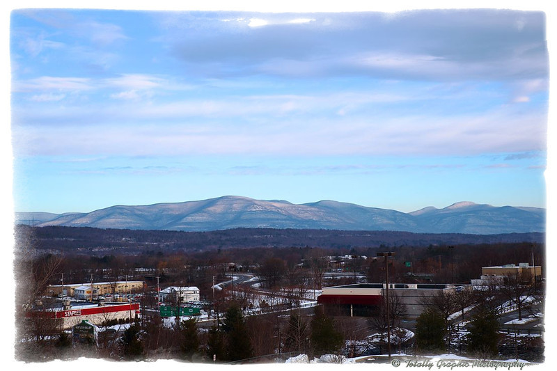 Partial view of the Catskill Mountains taken from the Town Of Ulster.