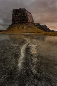 Mt. Lómagnúpur, Iceland