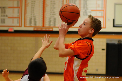 Jonesville 7th Grade Boys Basketball vs Union City