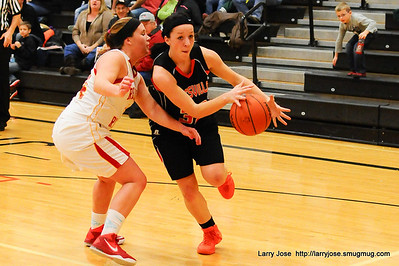 Jonesville vs Reading Varsity Girls Basketball
