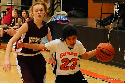 Jonesville vs Union City 7th Girls Basketball