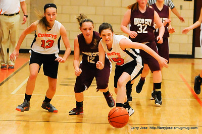 Jonesville vs Union City 8th Girls Basketball