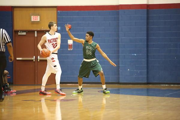 Boys Basketball: St. Albans Tournament Finals-- Ryken vs. Germantown