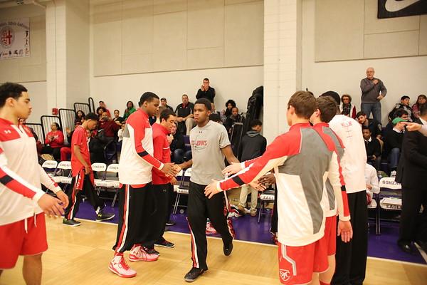 Boys Basketball: St. John's vs. Gonzaga
