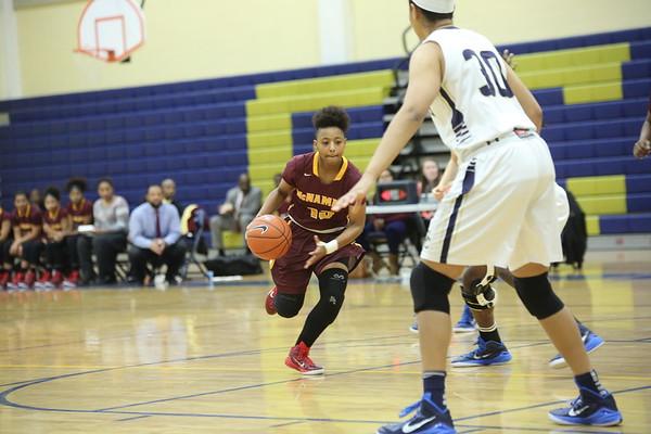 Girls Basketball: Good Counsel vs. McNamara