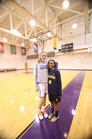 ISL Girls basketball: Visitation vs. Cathedral