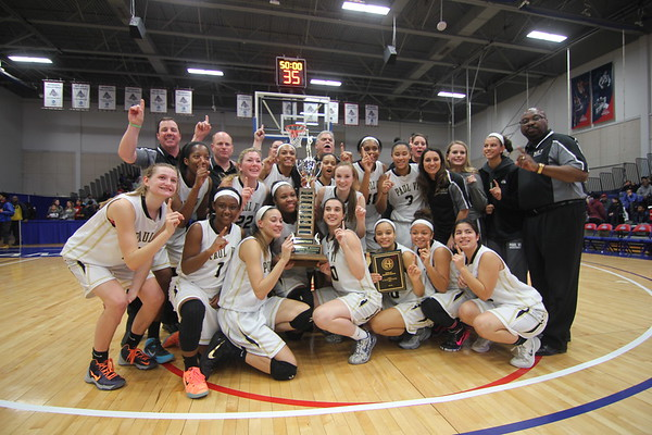 WCAC Girls Basketball Championship 2014-15 Paul VI vs. Good Counsel