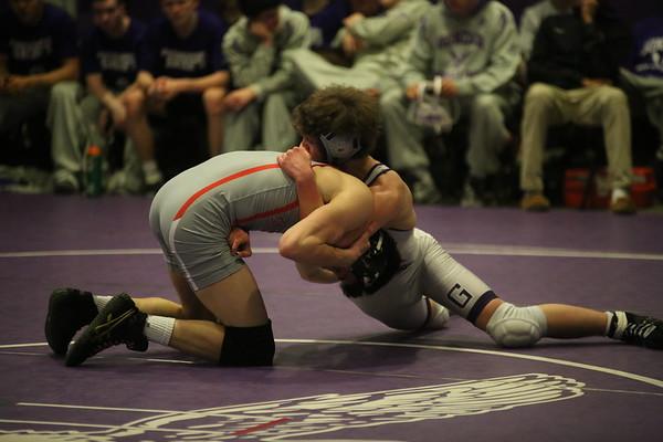 Wrestling: Wilson vs Gonzaga vs St. John's