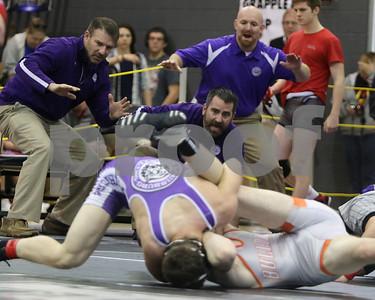 LHS Wrestling at Regionals