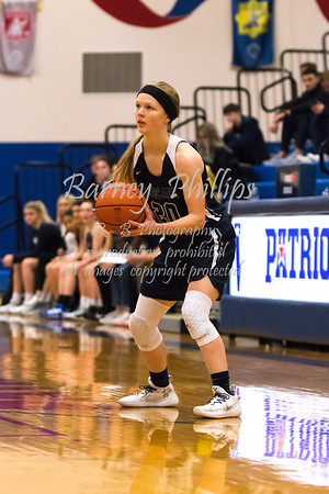 Lady Patriots vs Lady Cougars 12-18-19.....by Barney