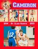 Cameron JabiroBasketball 2014-2015 11x14