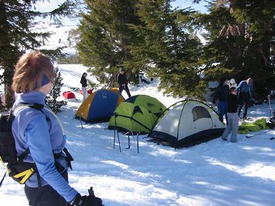 Snow Shoeing - Kirkwood Feb '06