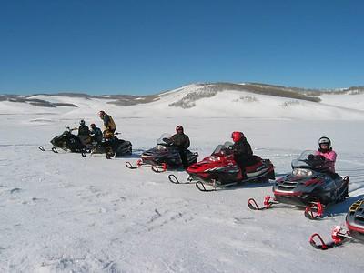 Snowmobiling Jan. 2005