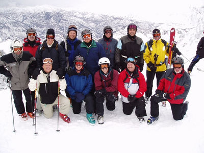 Utah Men's Ski Retreats