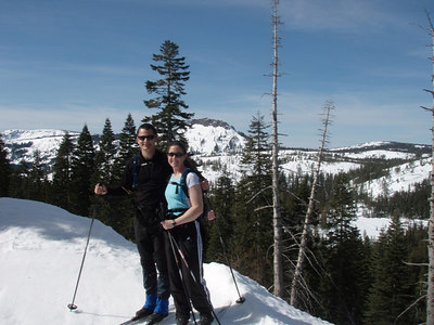 XC Skiing at Royal Gorge - Mar '07