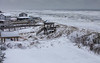 Kitty Hawk Beach the morning after Grayson snow storm
