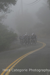 1880 Through the fog on Trinity Grade