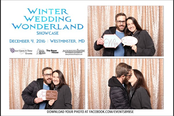 Winter Wedding Wonderland Showcase Photo Booth