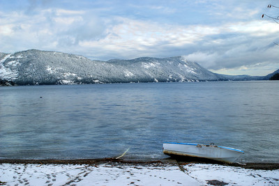 Cowichan Valley First Snow