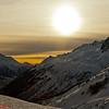 Chamonix Valley Sunset