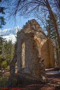 The Ruin at Les Gaillands