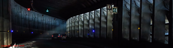 Chamonix Underpass - Light and Dark