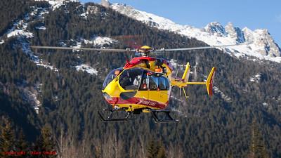 Chamonix Rescue Helicopter
