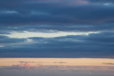 winter craigville sunset